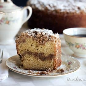 Corner Bakery Sour Cream Coffee Cake Recipe