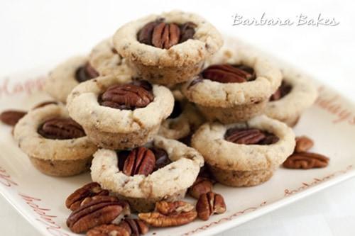 Fudge-Filled Toffee Pecan Sandies and Taste of Home Baking Cookbook Giveaway