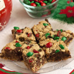 Chocolate Cherry Oatmeal Bars