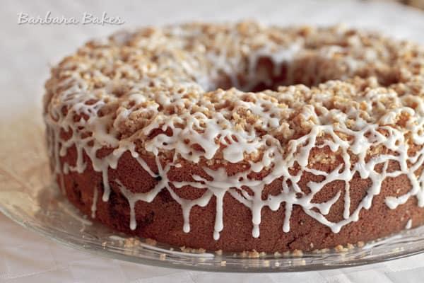 Applesauce Spice Coffee Cake - Barbara Bakes