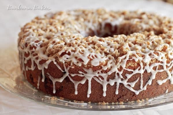 Marionberry Cherry Crumb Cake