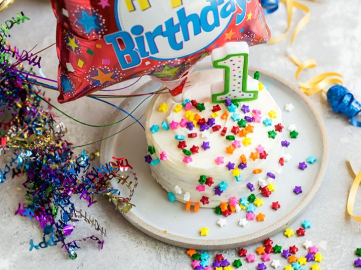 Strange Easy To Make Smash Cake Recipe Barbara Bakes Funny Birthday Cards Online Alyptdamsfinfo