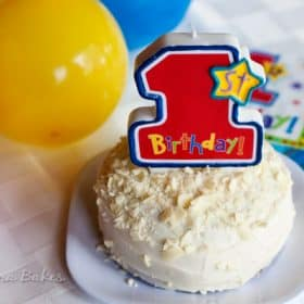 Smash Cake Recipe Barbara Bakes - Birthday cake barbara