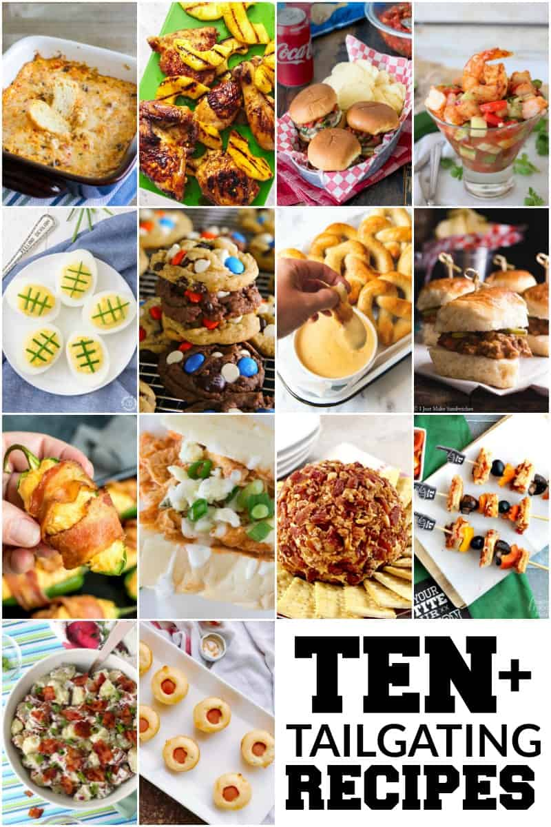 Ten Must Try Tailgating Recipes