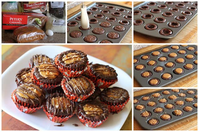 How to Make Caramel Delight Brownie Bites