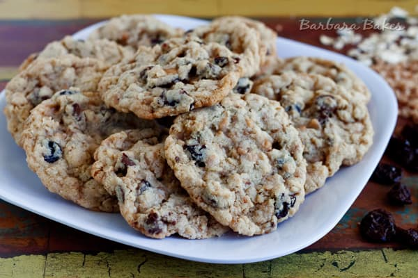 Cherry-Chocolate-Chip-Oatmeal-Toffee--Cookies-4-Barbara-Bakes