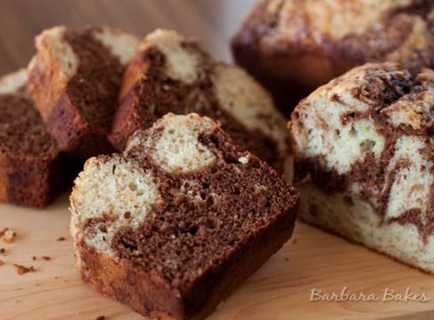 Featured Image for post Marbled Chocolate Banana Bread