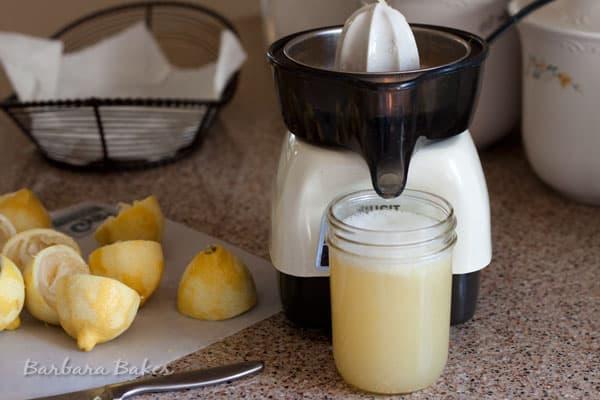 How To Freeze Lemon Juice Barbara Bakes