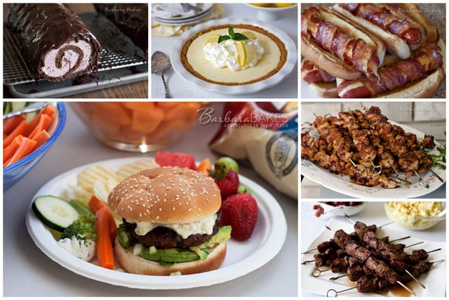 Memorial Day kicks off barbecue season so to help you plan your Memorial Day barbecue, I'm sharing some of my favorite barbecue recipes and some recipes I'd like to try this weekend too.