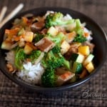 Pork Teriyaki Rice Bowl (Rumbi Bowls)