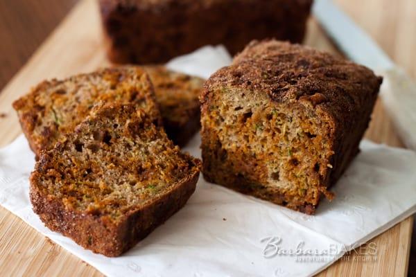Cinnamon Chip Zucchini Bread