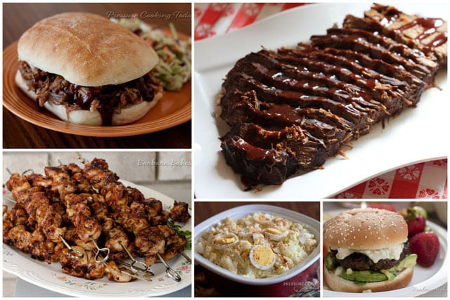 50+ Mouthwatering Labor Day Recipes perfect for a Labor Day barbecue or picnic.