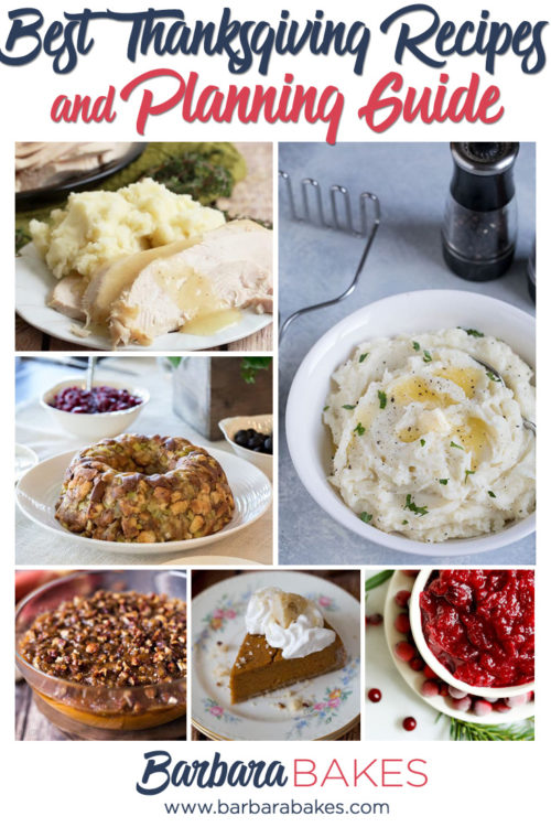 Best Thanksgiving Recipes and Planning Guide and Timeline