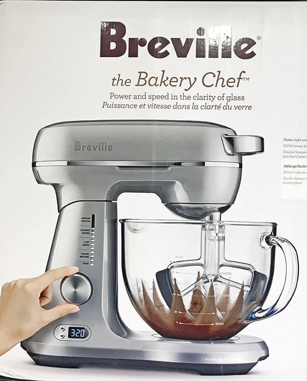 A Breville Stand Mixer makes mixing a breeze