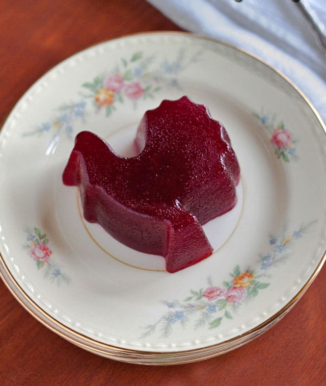 Cranberry jelly, a must have Thanksgiving side dish, is quick and easy, and better tasting when you make it at home.