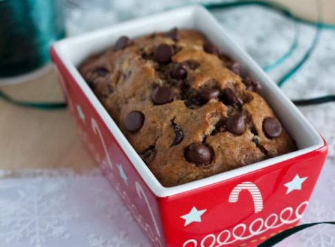 Featured Image for post Brown Sugar Banana Bread with Pecans and Chocolate Chips