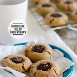 Chocolate Filled Gingersnaps