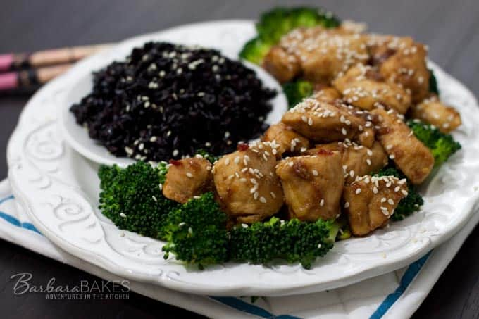 Easy Spicy Orange Chicken Recipe Barbara Bakes
