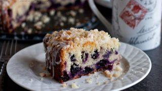 Lemon Blueberry Coffee Cake