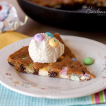 Easter Skillet Cookie