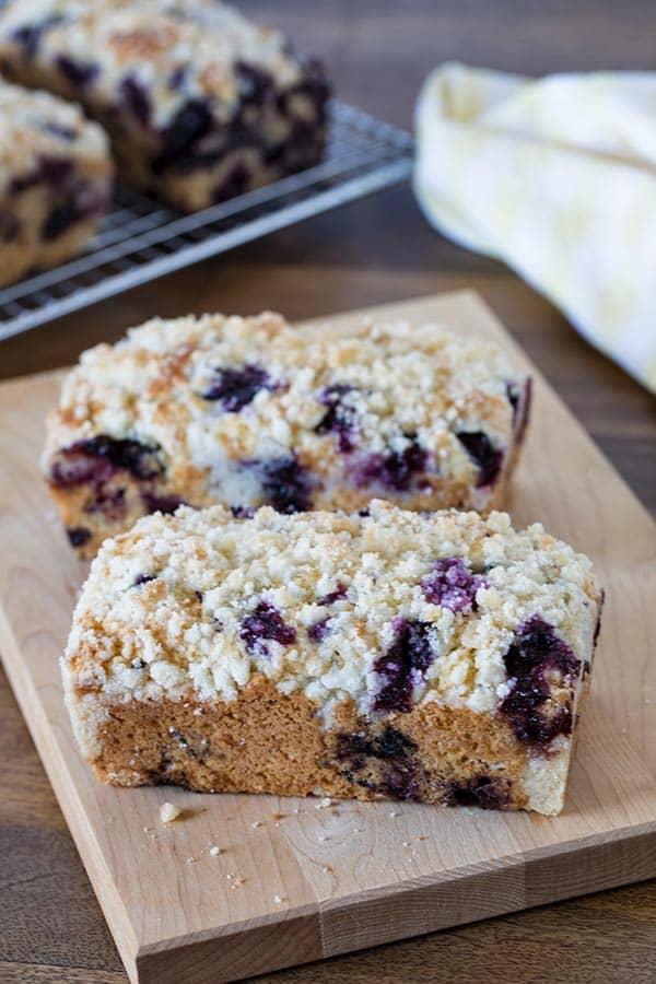 Lemon Blueberry Quick Bread Recipe From Barbara Bakes