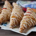 Strawberry Rhubarb Puff Pastry Turnovers