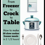 From Freezer to Crock to Table ebook Giveaway