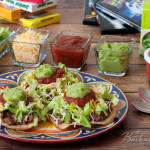 Quick Black Bean and Green Chili Tostadas