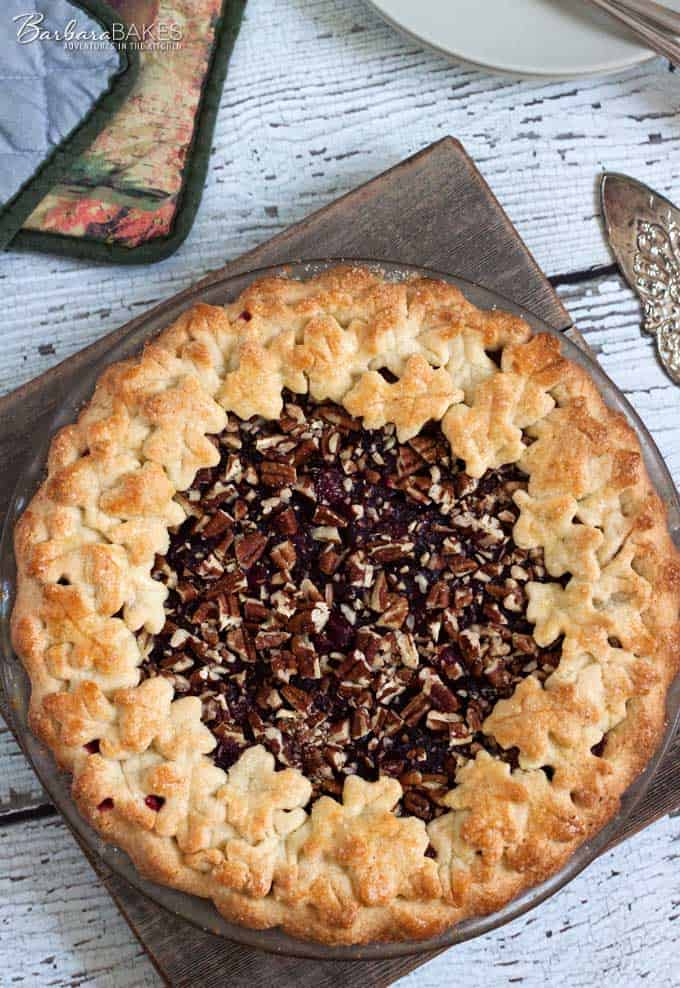 Cranberry-Pecan-Pie-2-Barbara-Bakes