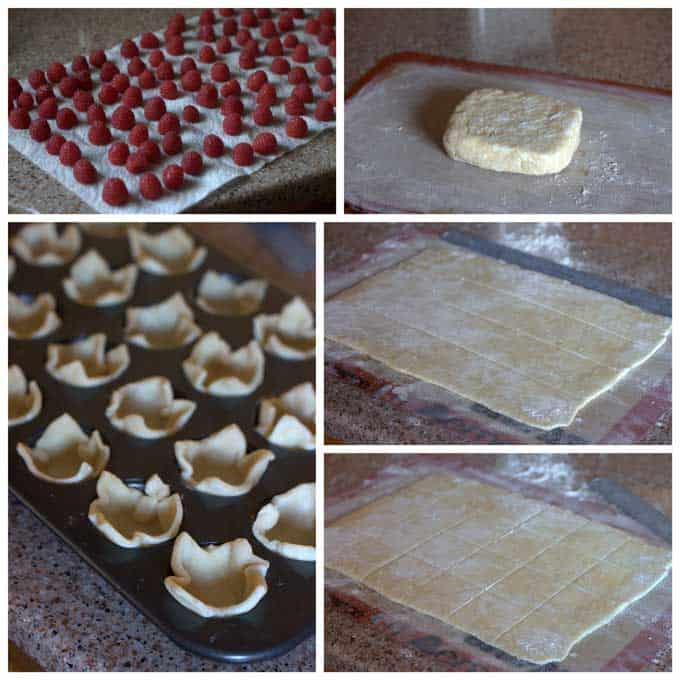 How to Make Raspberry White Chocolate Rugelach Bites