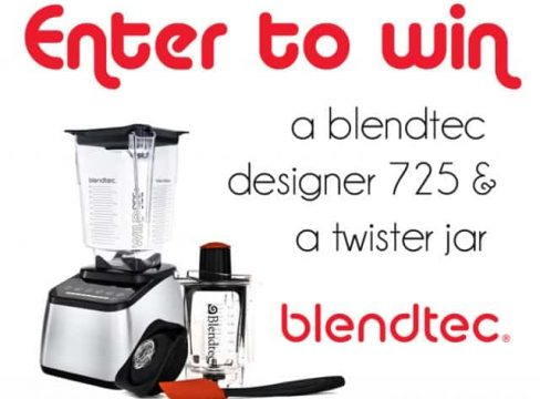 Featured Image for post Blendtec Giveaway and Blender Recipe Roundup