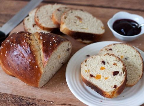 Featured Image for post Apricot Cherry Breakfast Bread