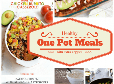 Healthy One Pot Meals with Extra Veggies