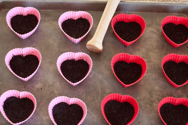 Heart Shaped Silicone muffin cups