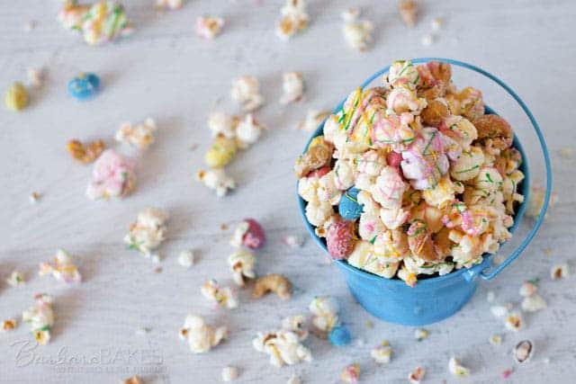 Easter Rocky Road Popcorn