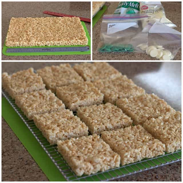 Creating St. Patrick's Day Rice Krispie Treats