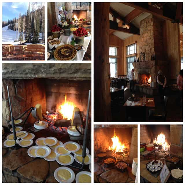 Deer Valley's Fireside Dining at the Empire Canyon Lodge in Park City