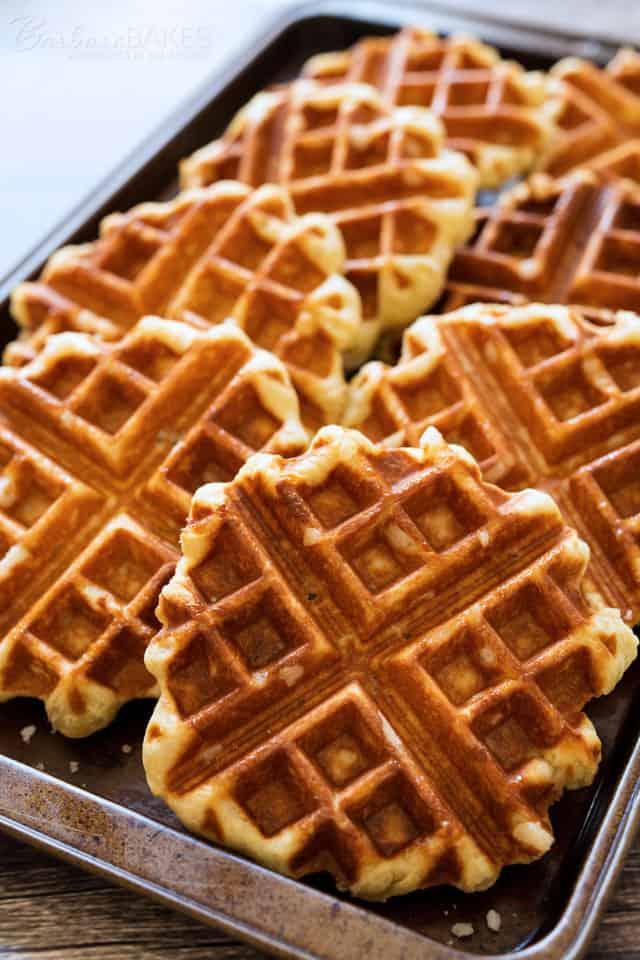Liege Waffles - Belgian Sugar Waffles