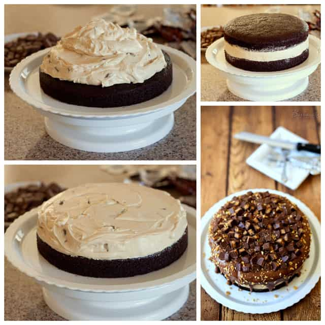 How to Make a Peanut Butter Cheesecake Chocolate Cake