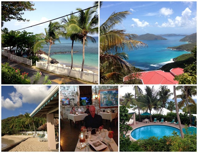 The Sugar Mill Hotel on the Island of Tortola, BVI