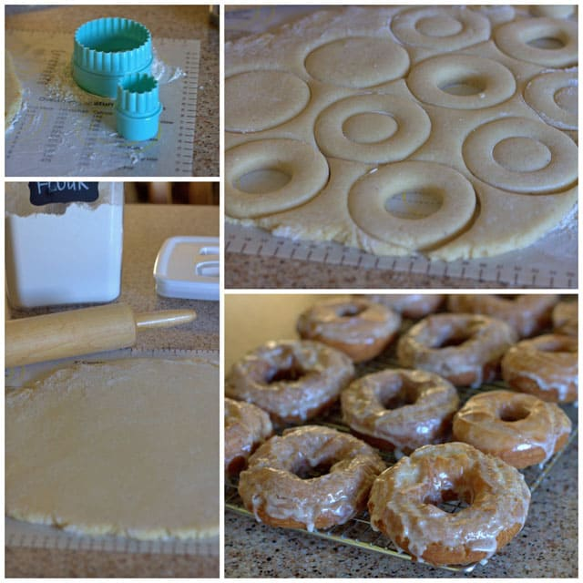Making Old Fashioned Buttermilk Donuts
