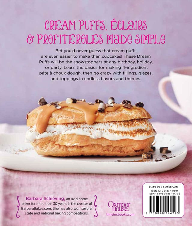 Simply Sweet Dream Puffs - Shockingly Easy Fun-Filled Treats - Back Cover