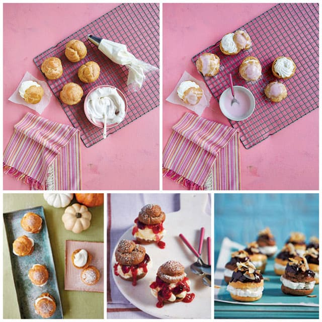 Cream Puffs from Simple Sweet Dream Puffs - Learn how earn easy they are to make at home.