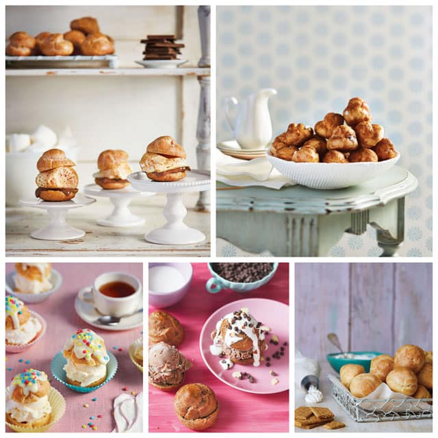 Just some of the fun, easy to make desserts in my new cookbook, Simply Sweet Dream Puffs.