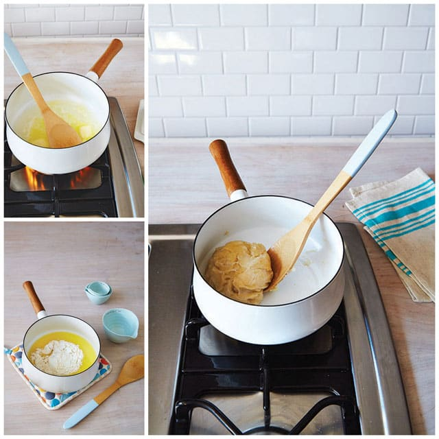 Step by Step Photos of How to Make Cream Puffs
