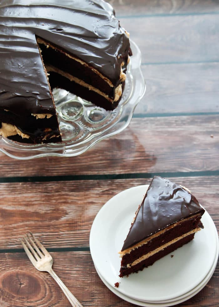 Peanut Butter Cup Cake from Chocolate Chocolate and More