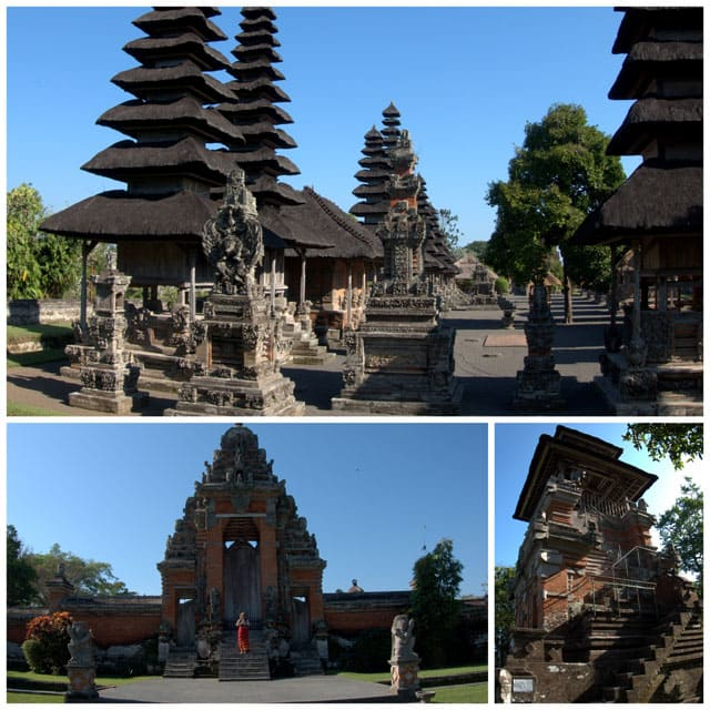 Taman Ayun means temple in a beautiful garden. The grounds and the architecture are strikingly beautiful.