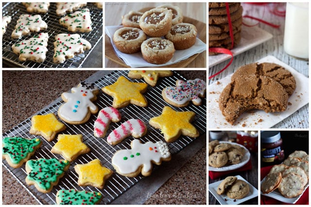 A recipe roundup of the best Christmas cookies on Barbara Bakes.
