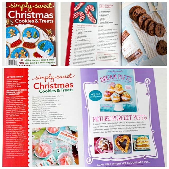 Christmas cookie magazine, Simply Sweet Christmas Cookies & Treats