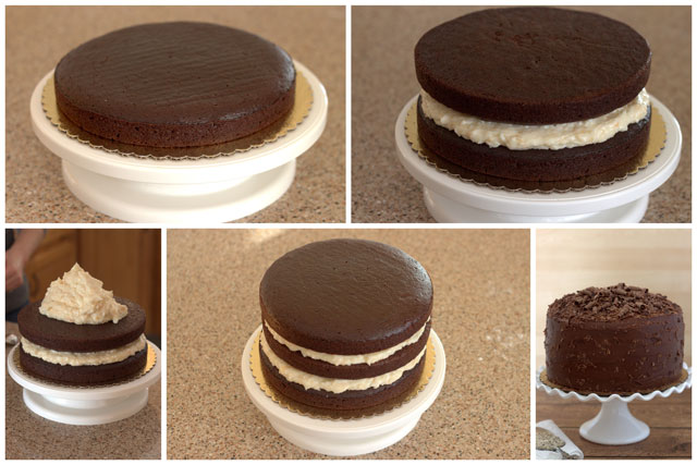 Tips on how to frost a layer cake.